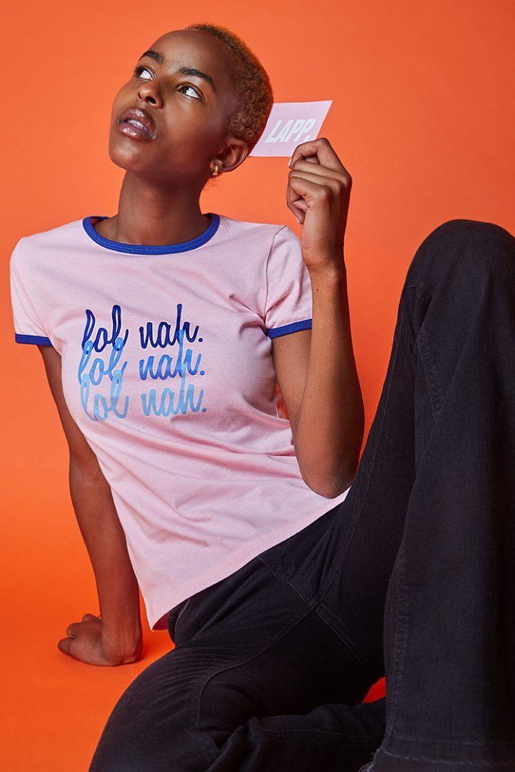 Leomie's first LAPP collection focused on sexual consent [Photo: LAPP]