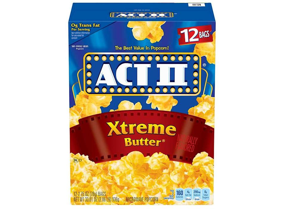 act 2 xtreme butter