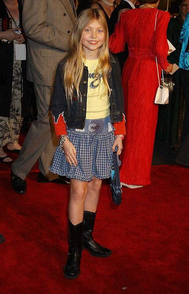 "February 2002: Taylor went for a cowgirl look at the premiere of her movie ""We Were Soldiers.""   <a href=""http://www.seventeen.com/fun/quizzes/fashion/celebrity-style-personality-quiz?link=rel&dom=yah_omg&src=syn&con=art&mag=svn"" target=""new"">Quiz: What's Your Style Personality?</a> Gregg DeGuire/<a href=""http://www.wireimage.com"" target=""new"">WireImage.com</a> - February 25, 2002"