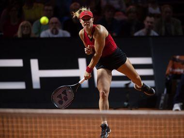 The pair had faced off last Sunday at the same Porsche arena venue in a Fed Cup semi-final tie won by the visitors, with Kvitova defeating Kerber.