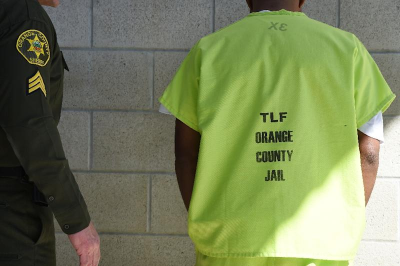 Operated by the Sheriff's Department of Orange County, the Theo Lacy Facility serves as a detention center for the US Department of Homeland Security's Immigration and Customs Enforcement (AFP Photo/Robyn Beck)