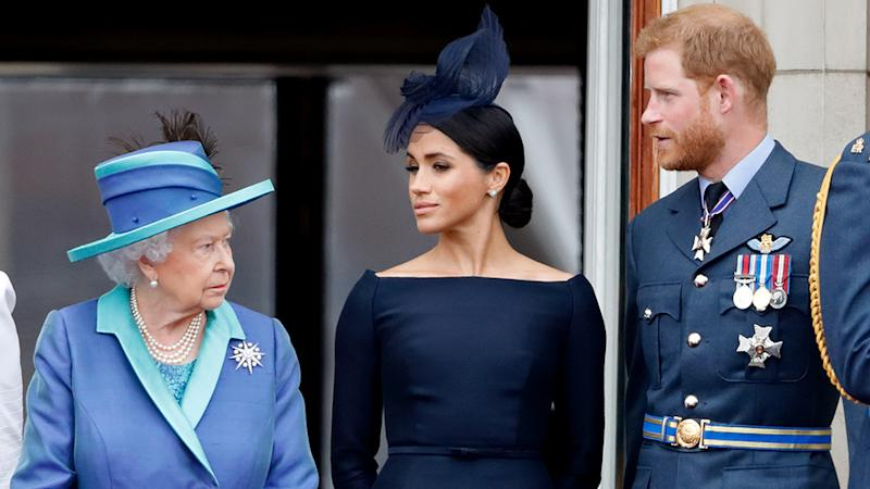 Prince Harry is said to be concerned about the welfare of the Queen. Photo: Getty Images
