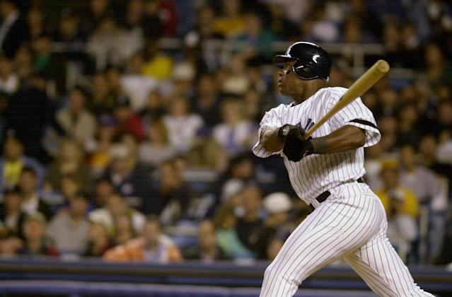 Glenallen Hill was traded from the Cubs to the Yankees in 2000 and turned in a hot second half for the eventual World Series champions. (Photo by Howard Earl Simmons/NY Daily News Archive via Getty Images)