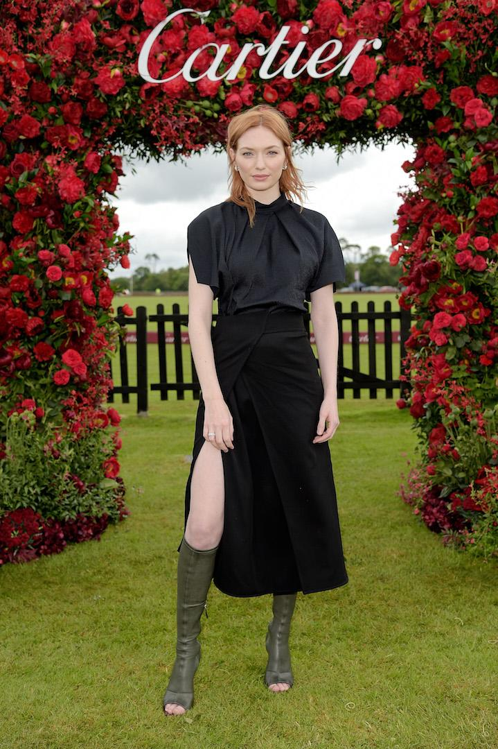 On June 16, the actress chose an all-black ensemble by Victoria Beckham and knee-high boots for the annual star-studded outing. <em>[Photo: Getty]</em>