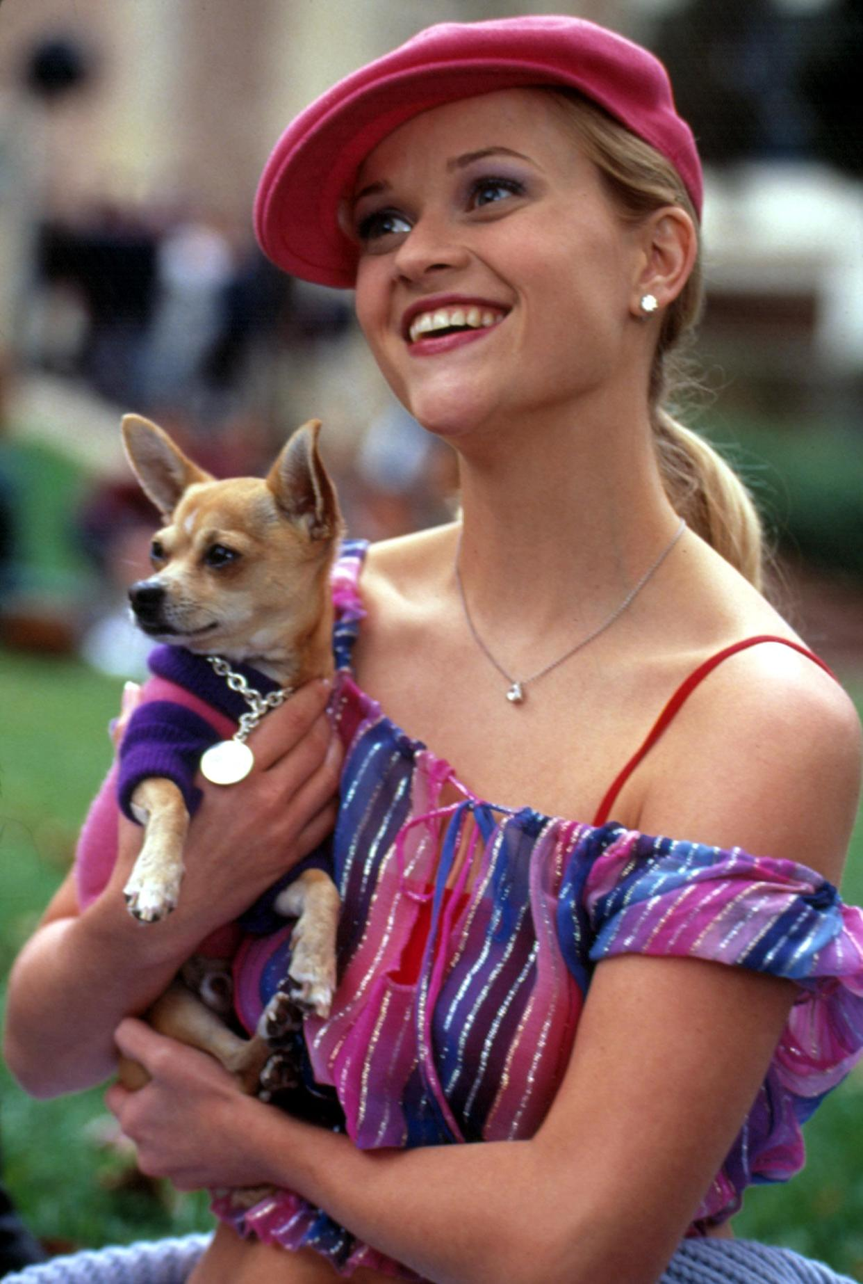 Reese Witherspoon plays Elle Woods in