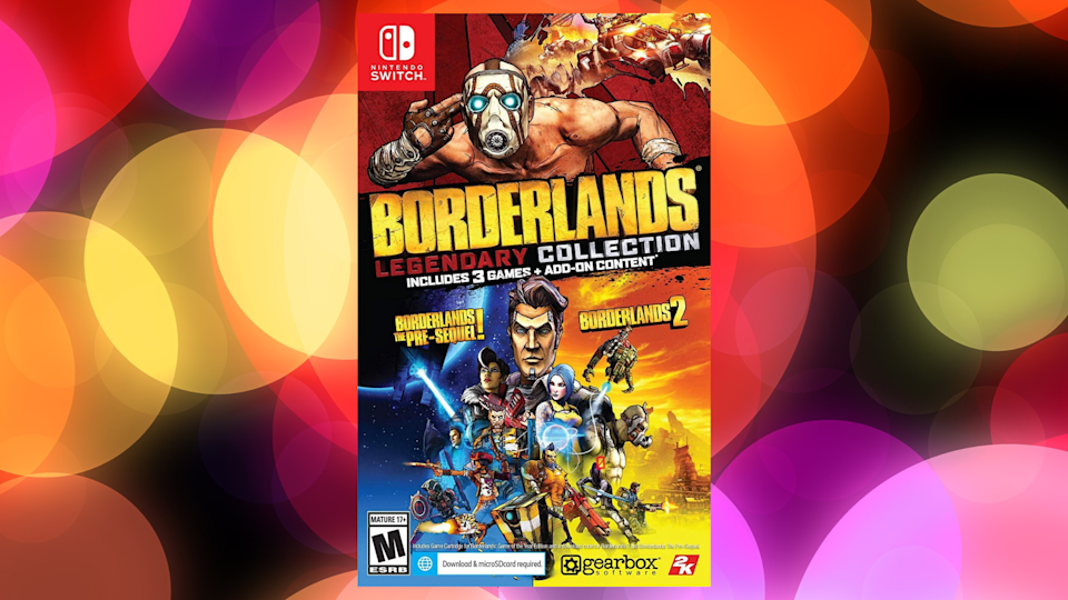 Save 40 percent on Borderlands Legendary Collection for Nintendo Switch. (Photo: Amazon)