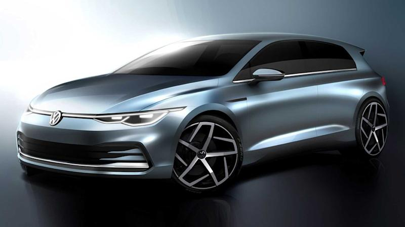 2020 VW Golf teaser