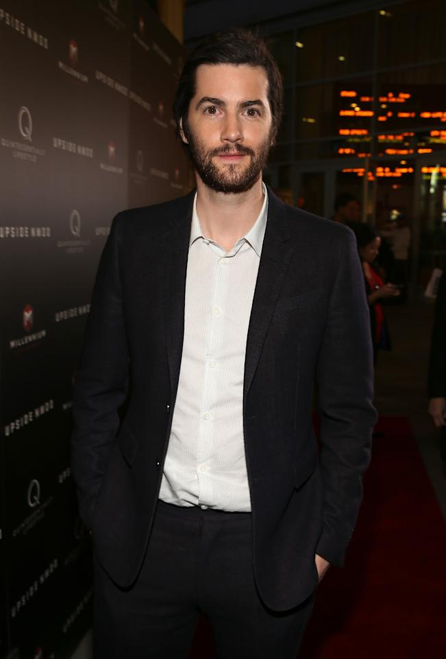 "HOLLYWOOD, CA - MARCH 12:  Actor Jim Sturgess attends the screening of Millennium Entertainment's ""Upside Down"" at ArcLight Hollywood on March 12, 2013 in Hollywood, California.  (Photo by Christopher Polk/Getty Images)"