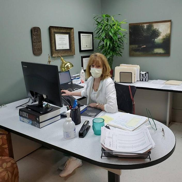 Kathleen Sposato, the director of infection prevention at Jackson Health System