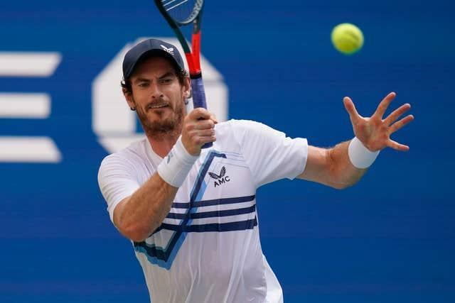 Andy Murray spoke about Raducau after his first-round victory at the Rennes Open (Seth Wenig/PA).