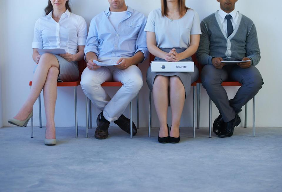 Showing interest in what you'll be paid too early in a job application process shouldn't doom you, but it may not endear you to a potential employer. (Getty)