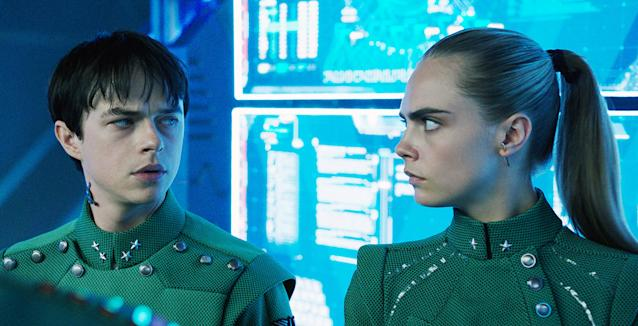 "<p>There were plenty of things to take issue with in last year's epically awful franchise nonstarter from the otherwise brilliant Luc Besson, but chief among them was the blatant lack of anything resembling sizzle from its two ""bantering"" interstellar cop leads. Maybe one of them should have connected with Rihanna's shape-shifting pole dancer, considering the pop star-turned-actress owned the film's best moment. Side bone to pick: Why wasn't it called Valerian and Laureline, considering Dane DeHaan and Cara Delevigne split screen time? (Photo: STX Entertainment/courtesy Everett Collection) </p>"