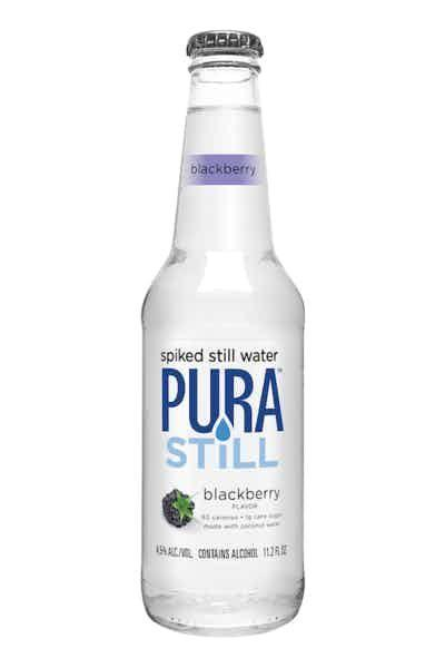 """<p><strong>Pura Still</strong></p><p>drizly.com</p><p><strong>$9.99</strong></p><p><a href=""""https://go.redirectingat.com?id=74968X1596630&url=https%3A%2F%2Fdrizly.com%2Fbeer%2Fspecialty-beer-alternatives%2Fhard-seltzer%2Fpura-still-spiked-still-water-blackberry%2Fp89699&sref=https%3A%2F%2Fwww.delish.com%2Fkitchen-tools%2Fcookware-reviews%2Fg33263238%2Fhard-seltzers%2F"""" rel=""""nofollow noopener"""" target=""""_blank"""" data-ylk=""""slk:BUY NOW"""" class=""""link rapid-noclick-resp"""">BUY NOW</a></p><p>If bubbles aren't really your thing, try Pura Still. It's spiked still water, so basically a flat version of a hard seltzer.</p>"""