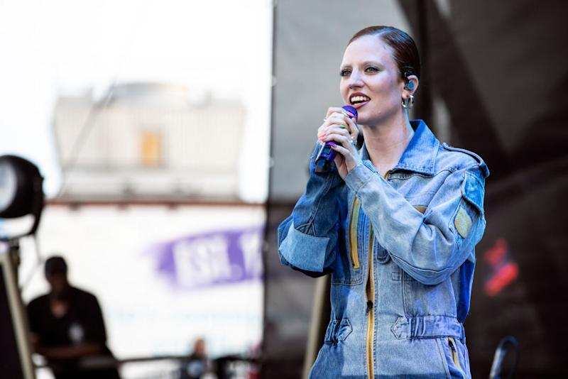 Jess Glynne cited anxiety and exhaustion as her reasons for not appearing at the Isle of Wight festival [Photo: Getty]