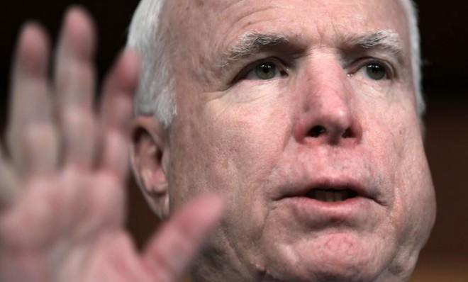Sen. John McCain (R-Ariz.) and his GOP colleagues don't love the sequester but they see it as a way to cut government spending.