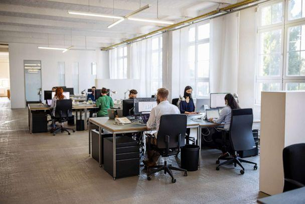PHOTO: People work in an office in a stock photo. (STOCK PHOTO/Getty Images)