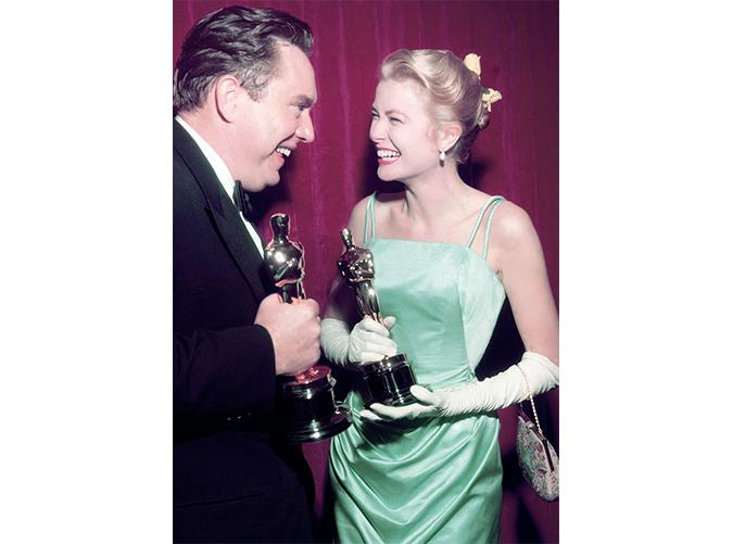<p>A year before Kelly became an<em>actual</em>princess, she certainly looked the part at the Oscars.</p>