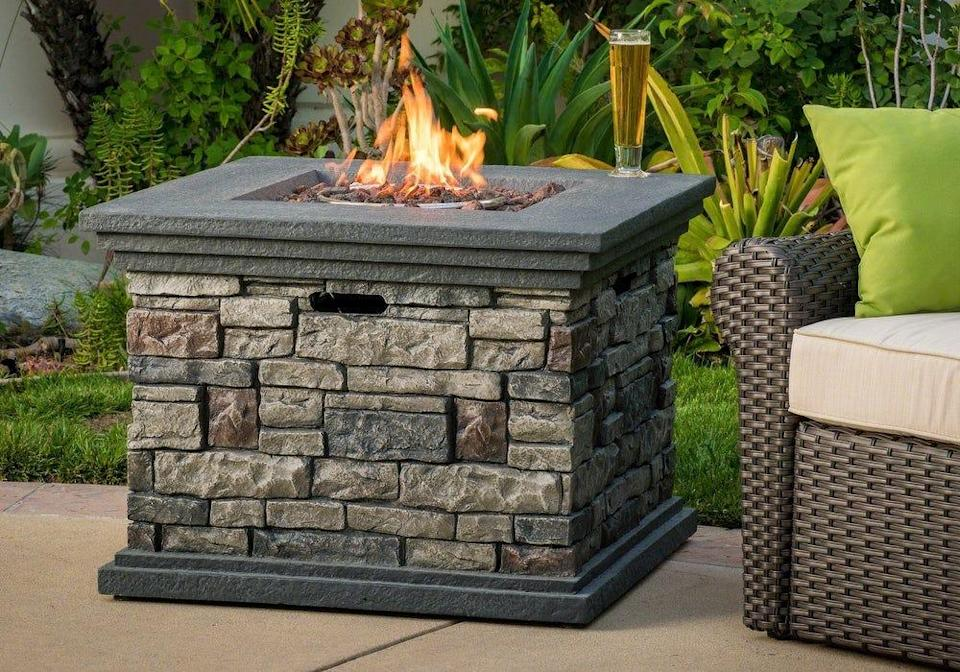 Outfit your patio with a fancy fire pit from Christopher Knight Home  this Prime Day.