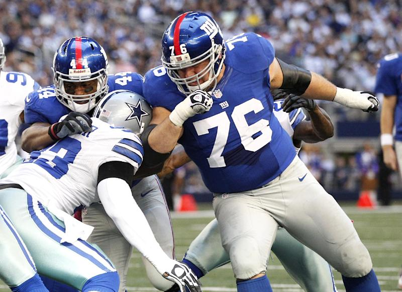Veteran guard Chris Snee retires from Giants