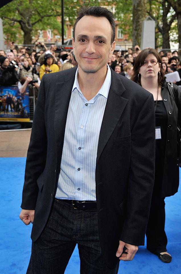 """<a href=""""http://movies.yahoo.com/movie/contributor/1800019189"""">Hank Azaria</a> at the London premiere of <a href=""""http://movies.yahoo.com/movie/1810028001/info"""">Night at the Museum: Battle of the Smithsonian</a> - 05/12/2009"""