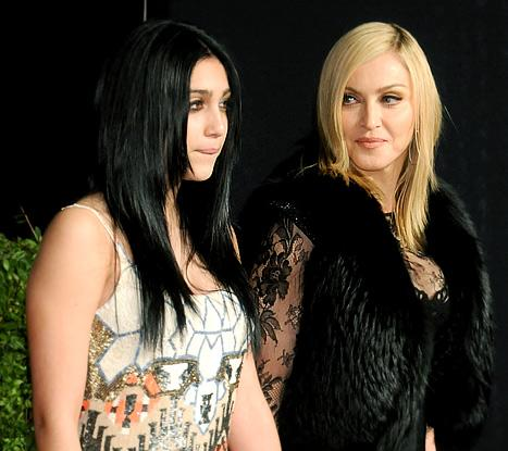 "Madonna ""Wasn't Very Happy"" to See Daughter Lourdes, 15, Smoking"