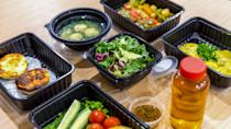 """<p><span>Home Bistro touts restaurant-quality meals. Some of the dishes include Mediterranean orange honey shrimp, artichoke-lemon steak with vegetables and chargrilled salmon with honey-roasted carrots.</span></p> <p><b>How Much Does Home Bistro Delivery Cost? </b>S<span>tarting at $19.99 per meal</span></p> <p><b>Is Home Bistro Delivery Worth It? </b><span>Home Bistro meals cost you the same or more than a restaurant dish, even when you commit to a seven or ten pack.</span></p> <p><b>Who Is Home Bistro Best For?</b></p> <ul> <li><span>Best for people who occasionally want to splurge and satisfy a craving</span></li> <li><span>Best when you like a variety of enticing menus</span></li> <li><span>Skip it if you're budget-conscious; individual meals can be expensive, costing $20 to $29 each.</span></li> </ul> <p><em><strong>See: <a href=""""https://www.gobankingrates.com/saving-money/food/pricey-restaurant-meals-can-make-home/?utm_campaign=1013201&utm_source=yahoo.com&utm_content=29"""" rel=""""nofollow noopener"""" target=""""_blank"""" data-ylk=""""slk:11 Pricey Restaurant Meals You Can Make at Home for Less"""" class=""""link rapid-noclick-resp"""">11 Pricey Restaurant Meals You Can Make at Home for Less</a></strong></em></p>"""