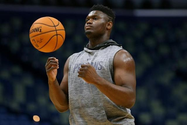 Teen rookie Zion Williamson of the New Orleans Pelicans has excited NBA fans about how dominant a player he might become (AFP Photo/Jonathan Bachman)