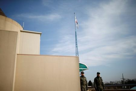 South Koreans get 5G service in 'scariest place' on North Korea border