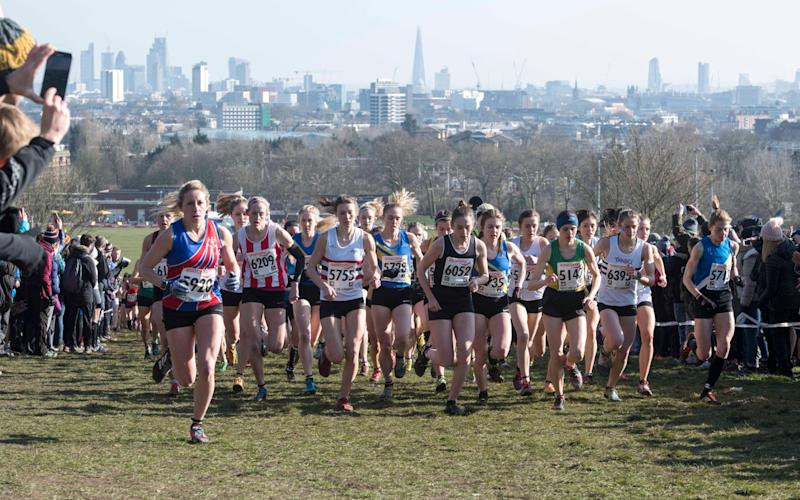 Cross country is a winter sport which dates back in Britain to 1876 - Paul Grover for the Telegraph