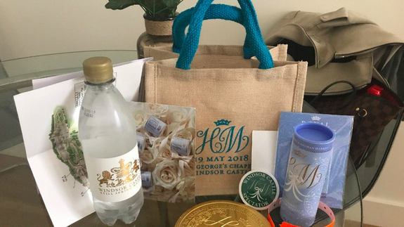 Royal wedding guests are selling their boring gift bags on eBay for ...