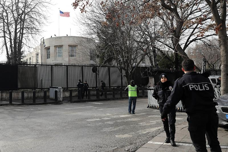 Turkey detains four Iraqi nationals for planning attack on US Embassy
