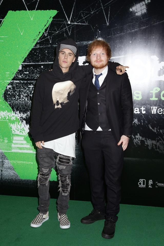 Ed Sheeran Jumpers for Goalposts Premiere – London