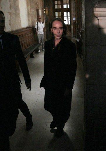 Flamboyant British designer Galliano, pictured here in 2011, was sacked last year after a video emerged of him hurling anti-Semitic slurs at patrons in a Paris bar