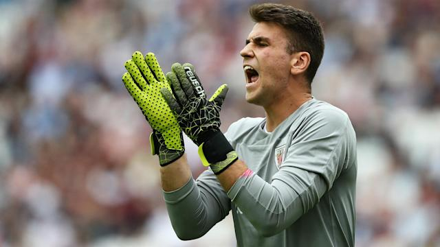 Unai Simon, 22, is reportedly attracting interest from Real Madrid amid criticism of goalkeeper Thibaut Courtois.