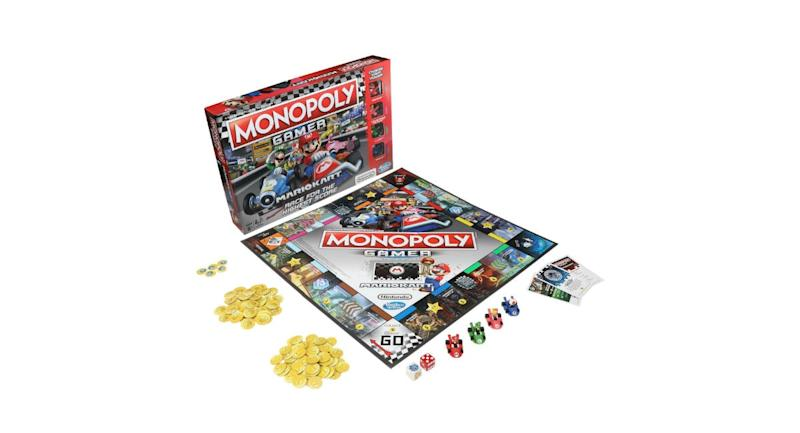 Monopoly Gamer Mario Kart Edition Released By Hasbro And Nintendo