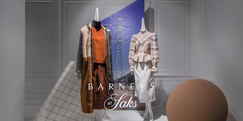 "<p class=""body-dropcap"">Barney's is back! Well, sort of. No longer on Madison Avenue, the New York City icon has taken up residence on the fifth floor of the Saks Fifth Avenue flagship. Called ""<em>Barneys at Saks</em>,"" the 54,000-square-foot department offers the beloved retailer a new chapter. After Barneys filed for <a href=""https://www.townandcountrymag.com/style/fashion-trends/a29665892/barneys-bankruptcy-sale-authentic-brands/"" rel=""nofollow noopener"" target=""_blank"" data-ylk=""slk:bankruptcy"" class=""link rapid-noclick-resp"">bankruptcy </a>in August 2019 and all locations were closed, devoted fans were upset. The retailer was known as the place for <a href=""https://www.townandcountrymag.com/style/jewelry-and-watches/a29715138/barneys-closing-kazuko-jewelry/"" rel=""nofollow noopener"" target=""_blank"" data-ylk=""slk:discovering new designers"" class=""link rapid-noclick-resp"">discovering new designers</a> and launched names such as Alaïa and Comme des Garcons, alongside standard favorites among the fashion set. </p><p>The relaunch of Barneys will feature a curated mix of established and emerging labels, introducing 16 new brands to Saks. ""We are excited to bring Barneys at Saks to life in a way that is relevant for today's luxury consumer with a strong focus on discovery and the unexpected,"" said Tracy Margolies, chief merchant at Saks Fifth Avenue, in a statement. ""As an extension of Saks' current luxury offerings, Barneys at Saks will offer unparalleled fashion from a wide range of emerging brands alongside labels that Saks customers already know and love. We look forward to welcoming our customers to this inspiring destination, where we will continue to cultivate up-and-coming designers and offer unique ways to experience fashion at Saks."" To celebrate the launch, Saks partnered with several emerging designers, including Anna Mason and Fear of God, to create mini shops that embody each brand's identity. The fifth floor will also host Honeybrains, a fast casual restaurant that is dedicated to brain healthy foods vetted by a team that includes a neurologist and dietician.</p><p><em>Barneys at Saks</em> will also open as a standalone, two-story, 14,000 square foot store in Greenwich, Connecticut on January 25 in what used to be the former Saks Fifth Avenue The Collective contemporary women's store. If you can't make it to Manhattan or Greenwich to shop <em>Barneys at Saks </em>in person, a selection of merchandise is available online. Below are our favorites to shop now.</p>"