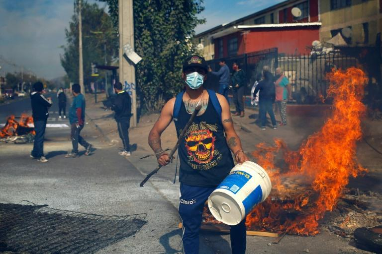 Worker protests in Chile have disrupted shipments of copper