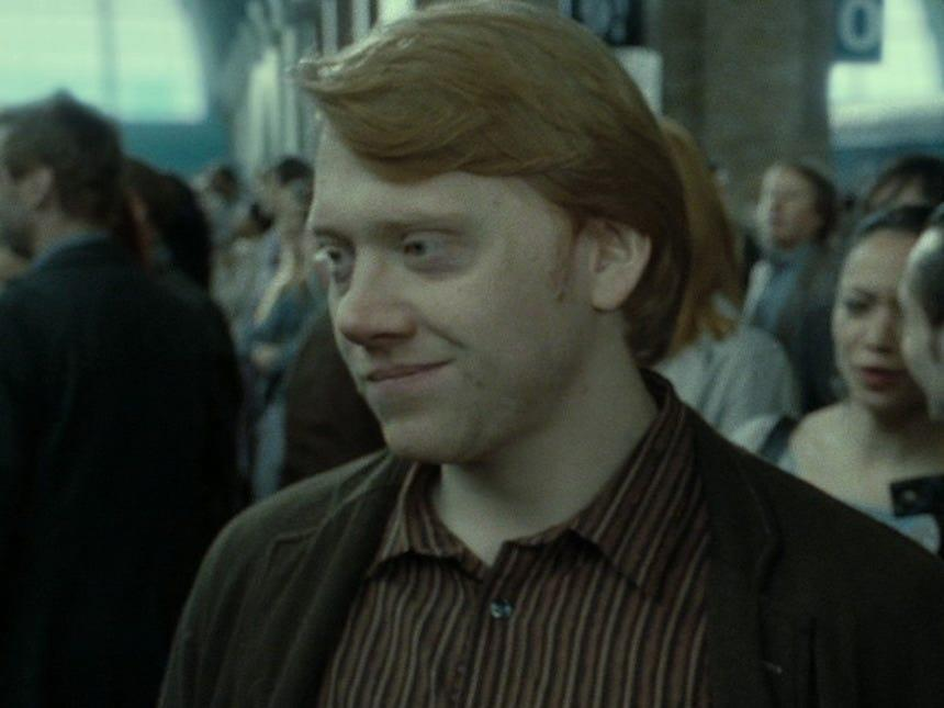 ron weasley adult