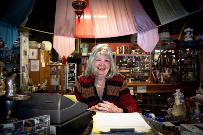 Ingrid has owned an antique store in Newcastle, Calif., for decades — but she is worried she may soon have to close. The Internet, she says, has been bad for business.