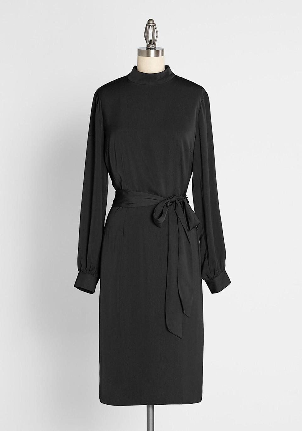 <p>The <span>Final Dynasty Midi Dress</span> ($89) is a great option if you're looking for an elegant staple piece.</p>