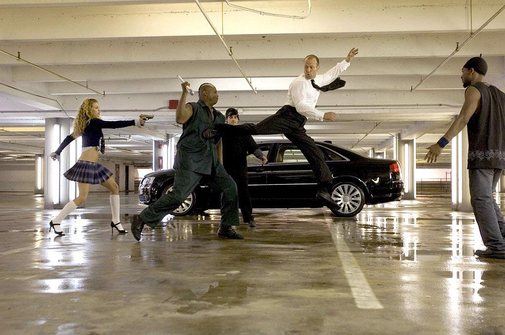"<a href=""http://movies.yahoo.com/movie/1808672932/info"">THE TRANSPORTER 2</a>  JOB: Driver  MOTIVE: Revenge  DRIVING OR PUNCHING?: More like driving and punching. At the same time."