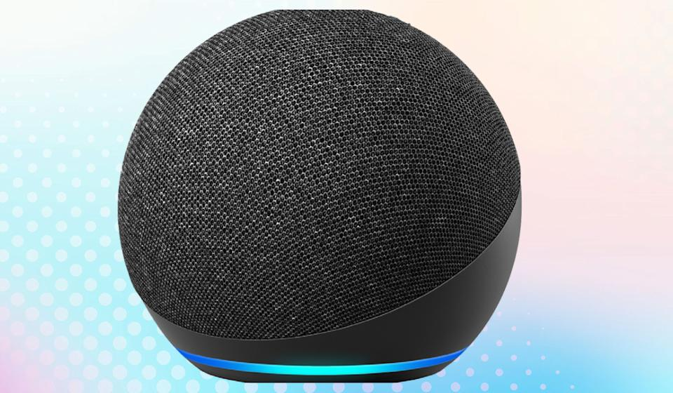 The Echo Dot smart speaker makes a great addition to any smart home. (Photo: Amazon)