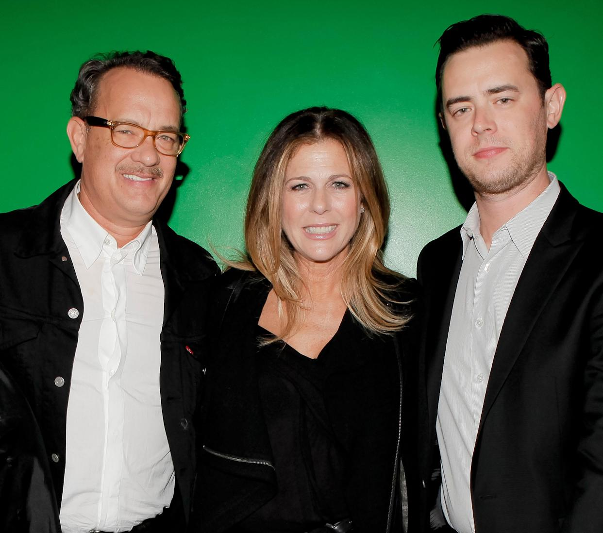 Colin Hanks says his daughters aren't interested in his and Tom Hanks's careers. (WireImage)