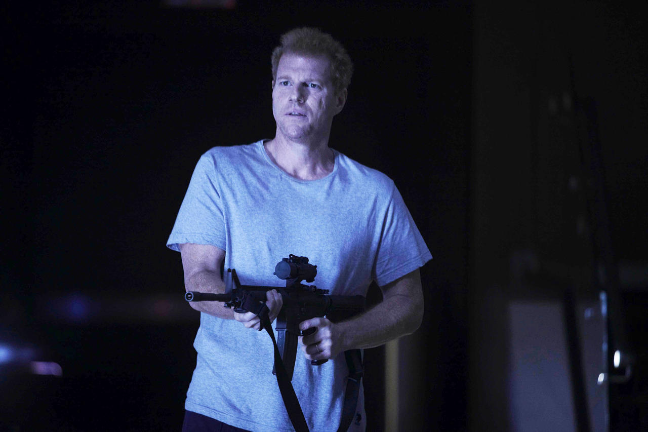 """<p><strong>Season 1, """"TS-19""""</strong><br />The last surviving employee of the Center for Disease Control after the apocalypse began, kind, well-intentioned Jenner worked until there was nothing more he could do to try to reverse things. He offered Rick and his group food and shelter, and a chance to die peacefully with him inside the about-to-detonate CDC headquarters. When they decided to flee and take their chances in the new world, Jenner dropped this bombshell in Rick's ear: Everyone carries the disease that will turn them into a walker when they die, whether they've been bitten by a walker or not. (Photo: AMC) </p>"""