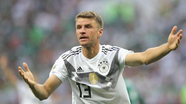 Germany's chastening loss to Mexico in Moscow has their World Cup defence in jeopardy and Thomas Muller urged his colleagues to response.