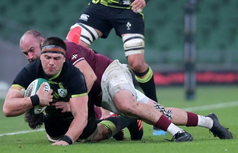Johnny Sexton was scathing about Ireland's second-half performance in the 23-10 win over Georgia and says they owe it to the public to deliver an 80 minute performance against Scotland on Saturday