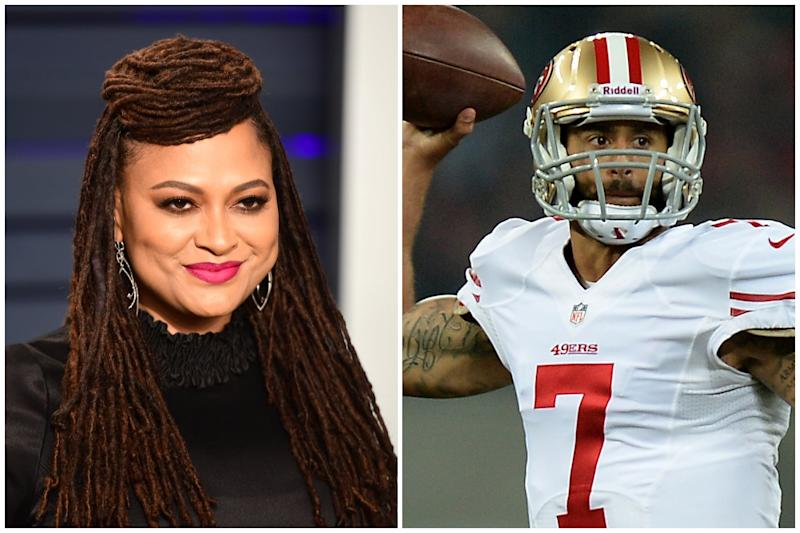 Ava DuVernay and Colin Kaepernick are teaming up for a new Netflix series on the former NFL quarterback's childhood: PA