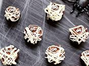 """<p>Since there's no need for perfection here—just squirt the frosting every which way and add some sugar eyes—this is a great recipe to involve the kids. </p><p><a class=""""link rapid-noclick-resp"""" href=""""https://www.suburbansimplicity.com/mummy-brownies-halloween/"""" rel=""""nofollow noopener"""" target=""""_blank"""" data-ylk=""""slk:GET THE RECIPE"""">GET THE RECIPE</a></p>"""