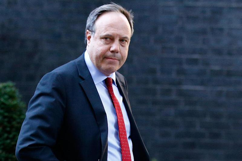 Nigel Dodds: the DUP's deputy leader said the party was ready to continue voting against the Government: REUTERS