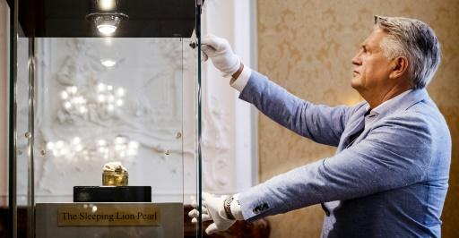 The 'Sleeping Lion Pearl' was sold for 320,000 euros